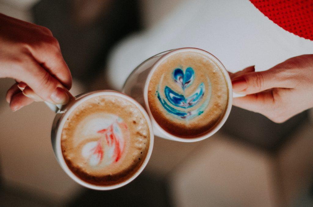 咖啡店打工 學習拉花