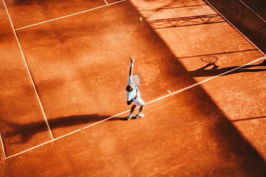Federer加入國家網球營隊的培訓