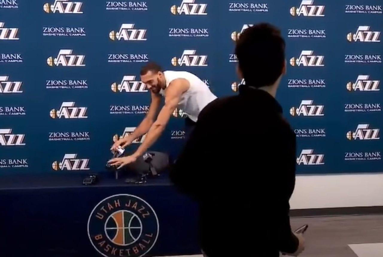 戈貝爾 NBA 新冠肺炎 武漢肺炎