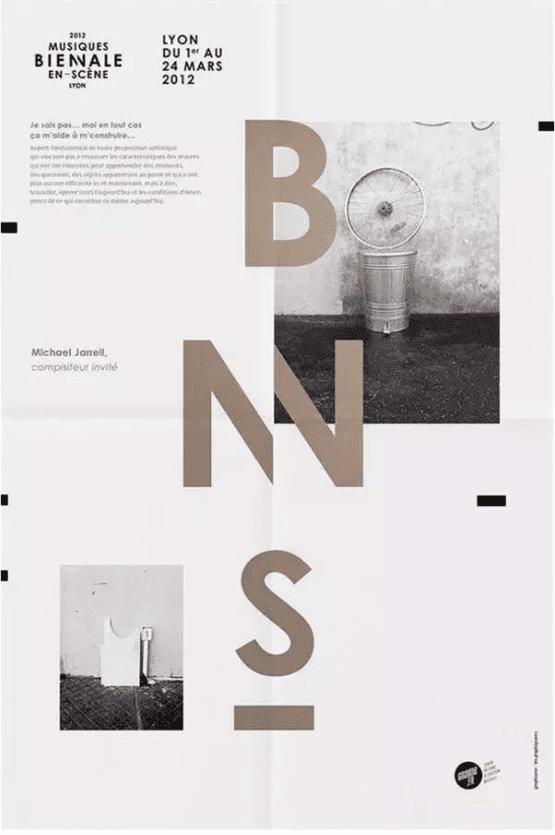 海報設計背後的網格系統01