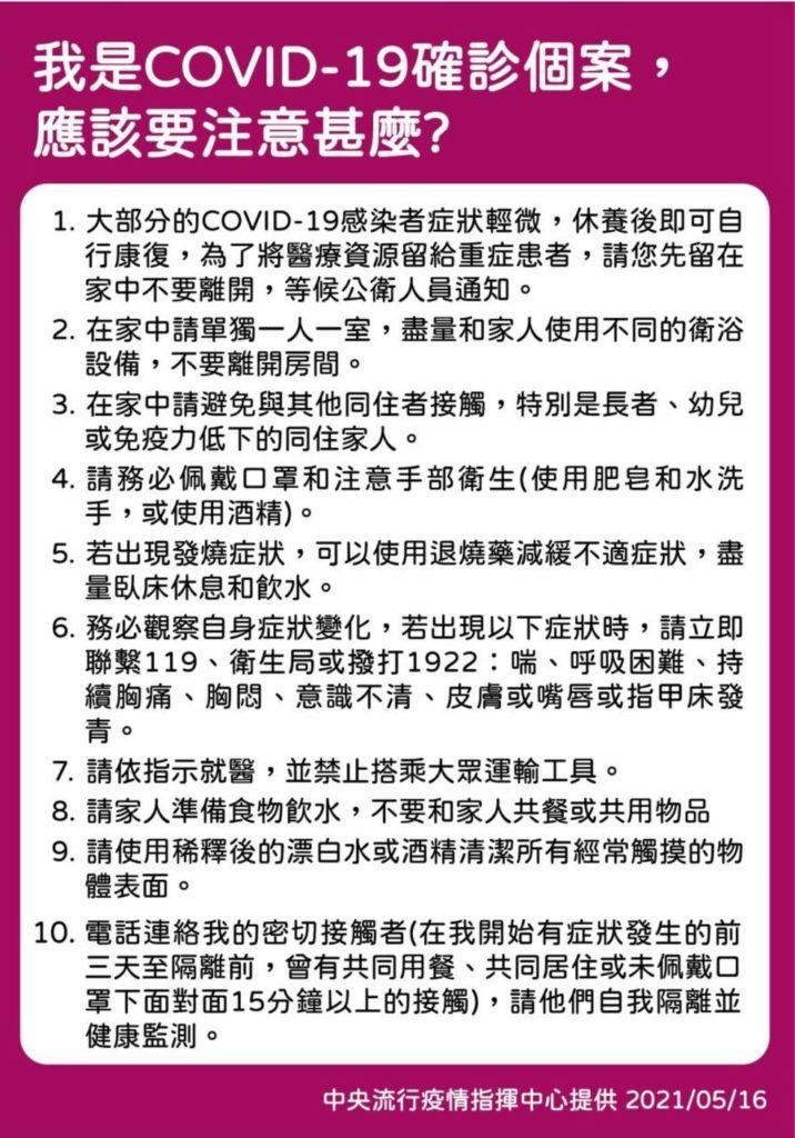 COVID-19確診個案